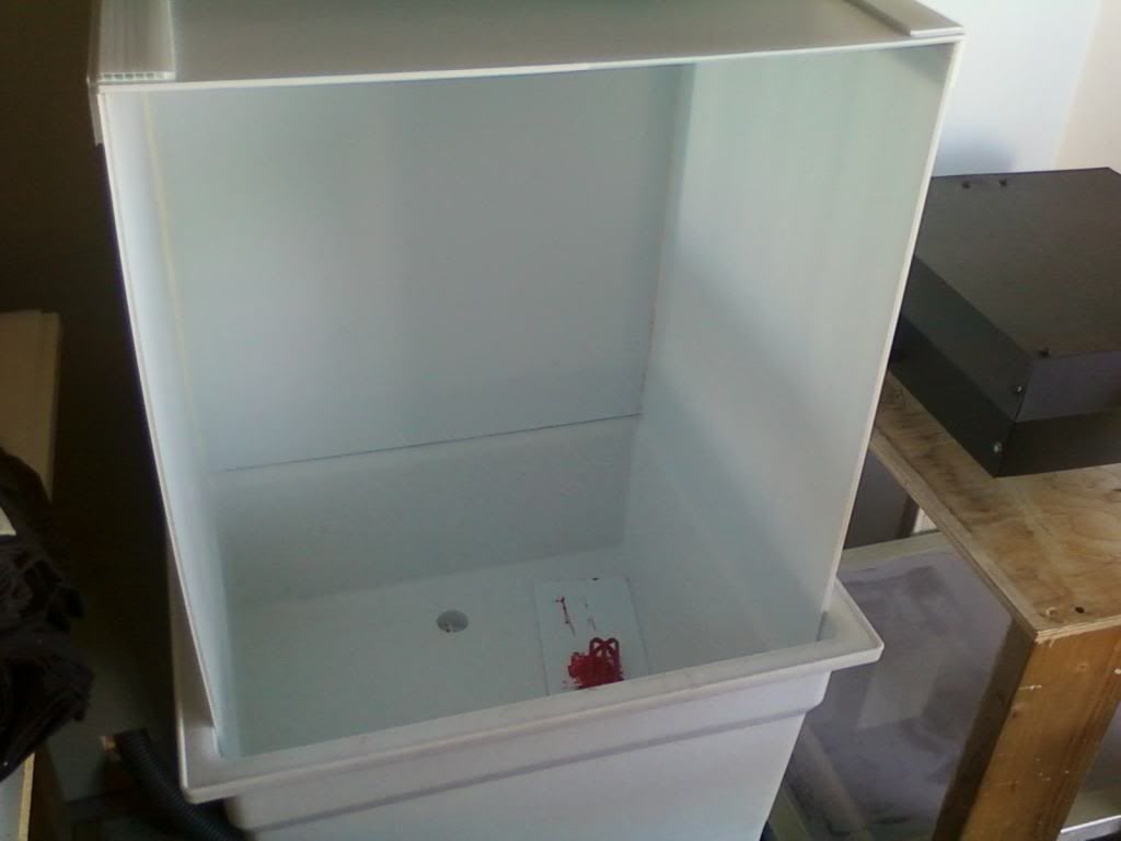 Screen Printing: 1 Plastic Utility Sink from Home Depot = $49 4m ...
