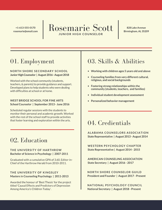 Design Templates Canva Resume examples, Job resume