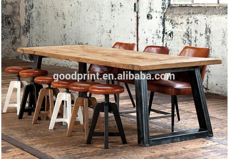 Chinese Antique Industrial Recycle Solid Wood Dining Table Find
