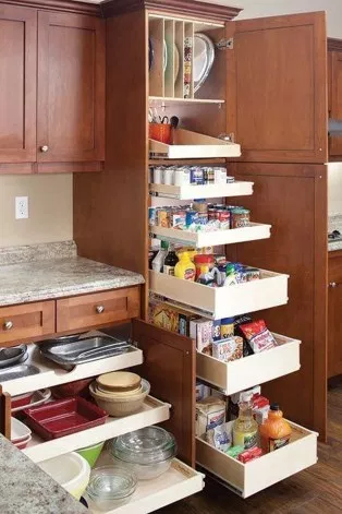 44 The Best Kitchen Organization Cabinet Ideas #cabinetorganization