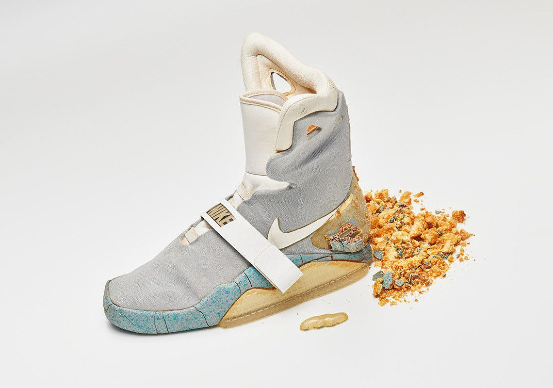 Nike Mag Back To The Future Ii Original Marty Mcfly Shoe Auction