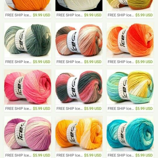 Ice Yarn Magic Light.  Great prices.  For future reference.