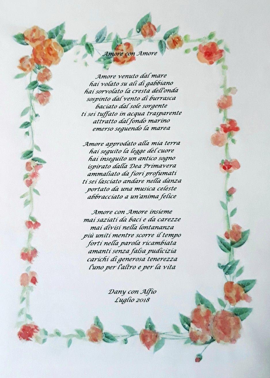 Poesie Per Anniversario Matrimonio.Anniversario Di Matrimonio Poesia Di Daniela Bertoni