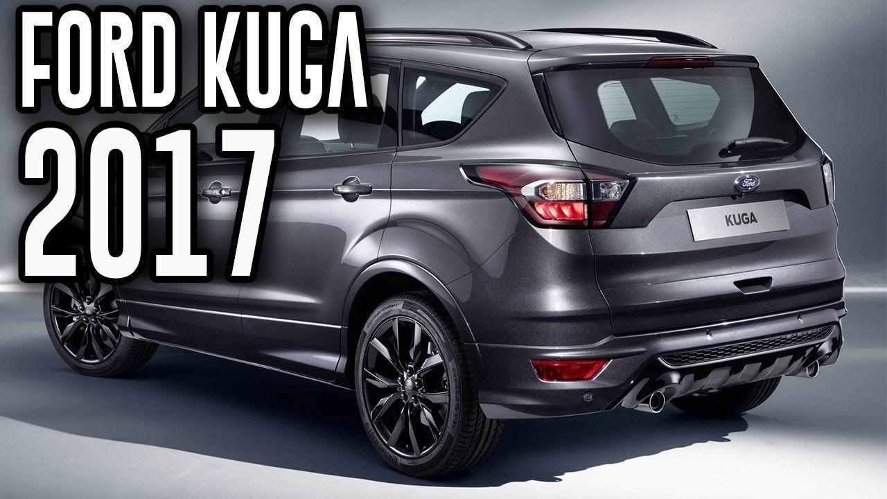 2017 Ford Kuga Larger Edge Suv Sporty New Kuga Ford Kuga Suv
