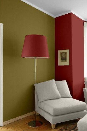 Combinar El Rojo Con Verde Pintomicasa Com Colores De Interiores Colores De Pintura De Interior Pintura De Interiores