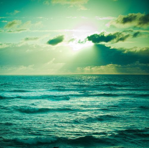 Sea And Sky Sunset Landscape Ocean Beautiful Nature
