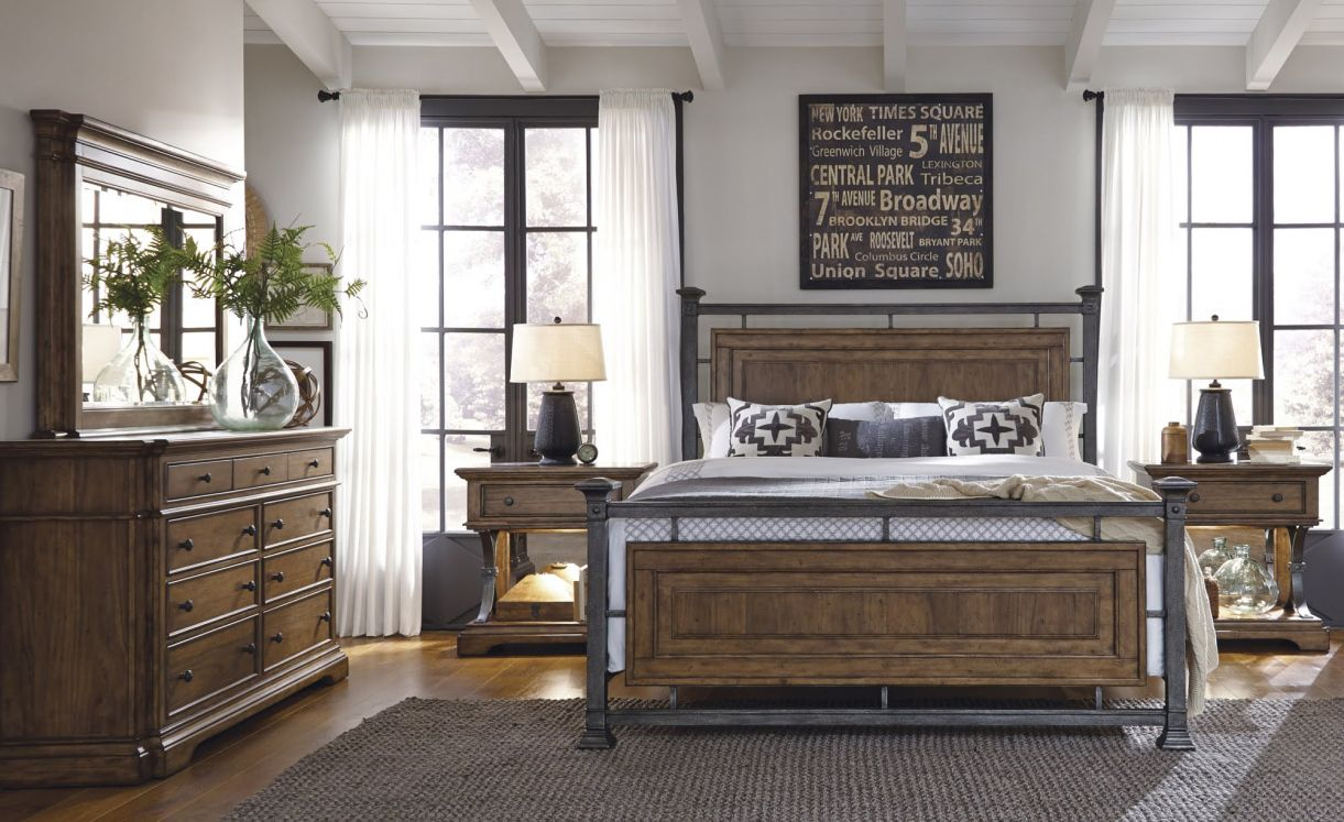 Metal and Wood Bedroom Furniture - Interior Design Ideas Bedroom ...