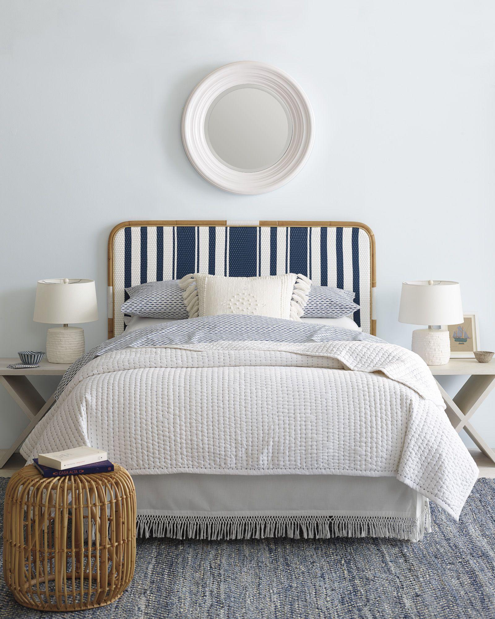 Wonderful The Coastal Casual Bedroom | Riviera Headboard Via Serena U0026 Lily