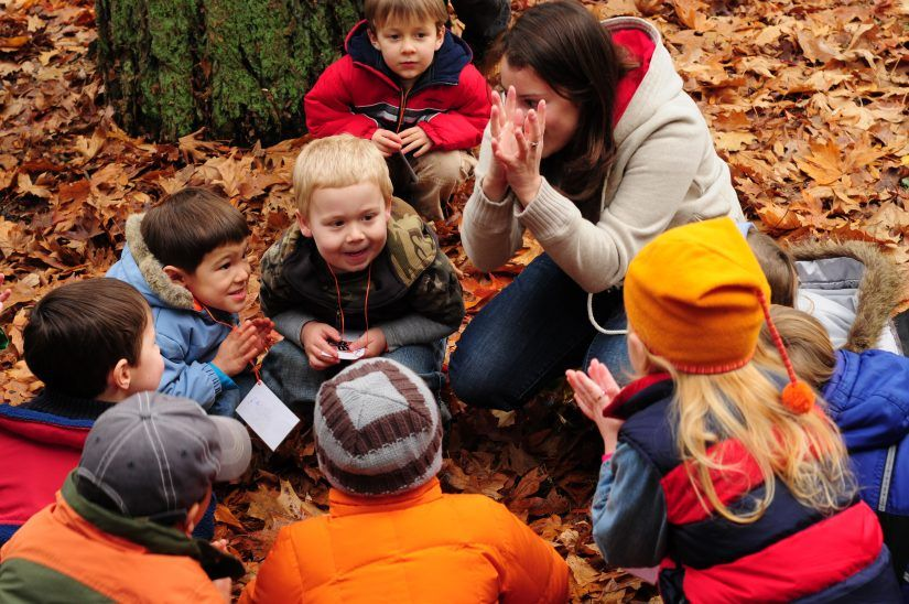 Family Nature Classes Forest school, Nature school
