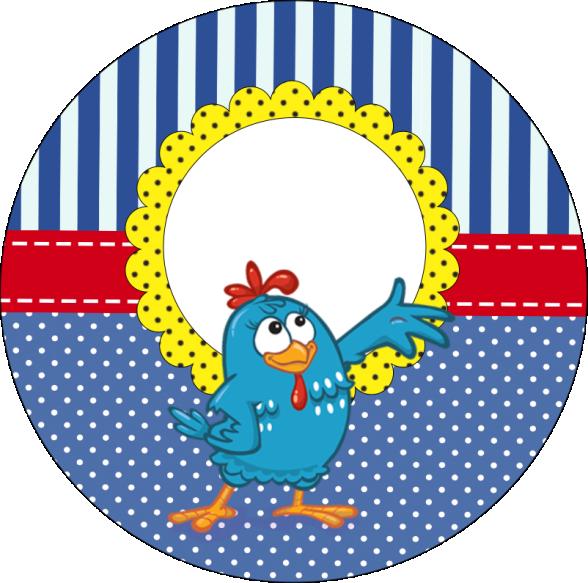 Rotulos Galinha Pintadinha Para Personalizar Festa Infantil