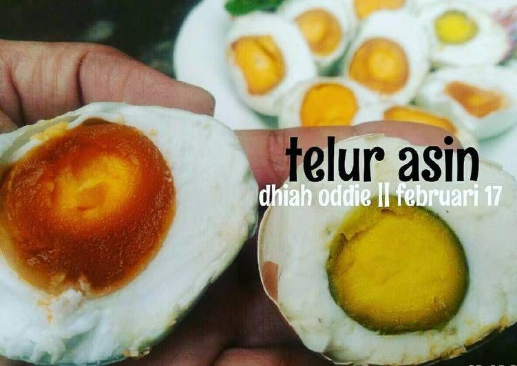 Resep Telur Asin Oleh Dhiah Oddie Resep Telur Resep Memasak