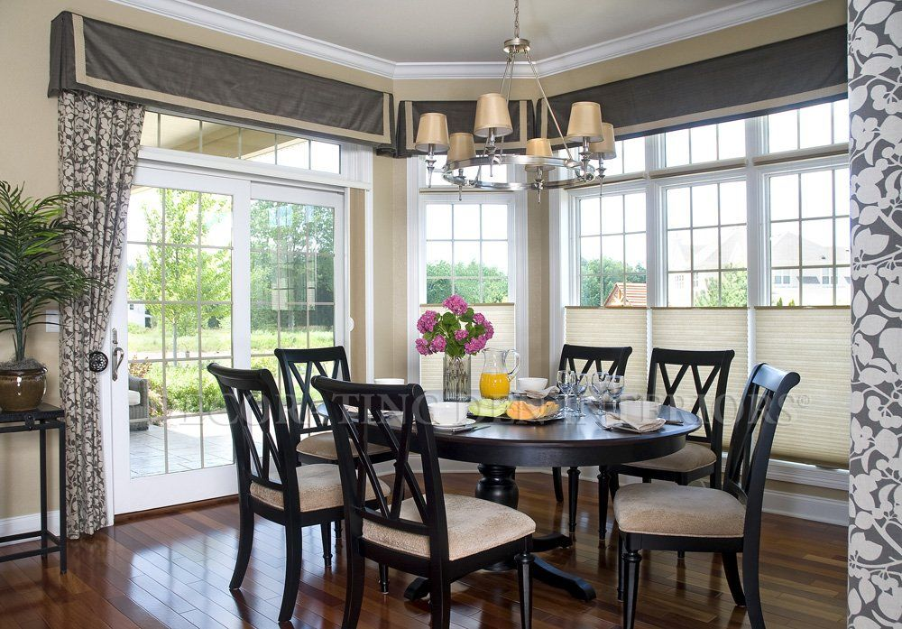 I Like The High Windows And Curtains Abide Pinterest  High Adorable Dining Room Window Treatments Review