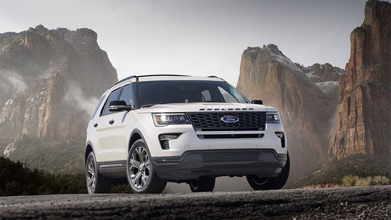 2020 Ford Explorer To Go Rwd Get 400 Hp St Version Ford Explorer Ford Explorer Sport Cheap Sports Cars