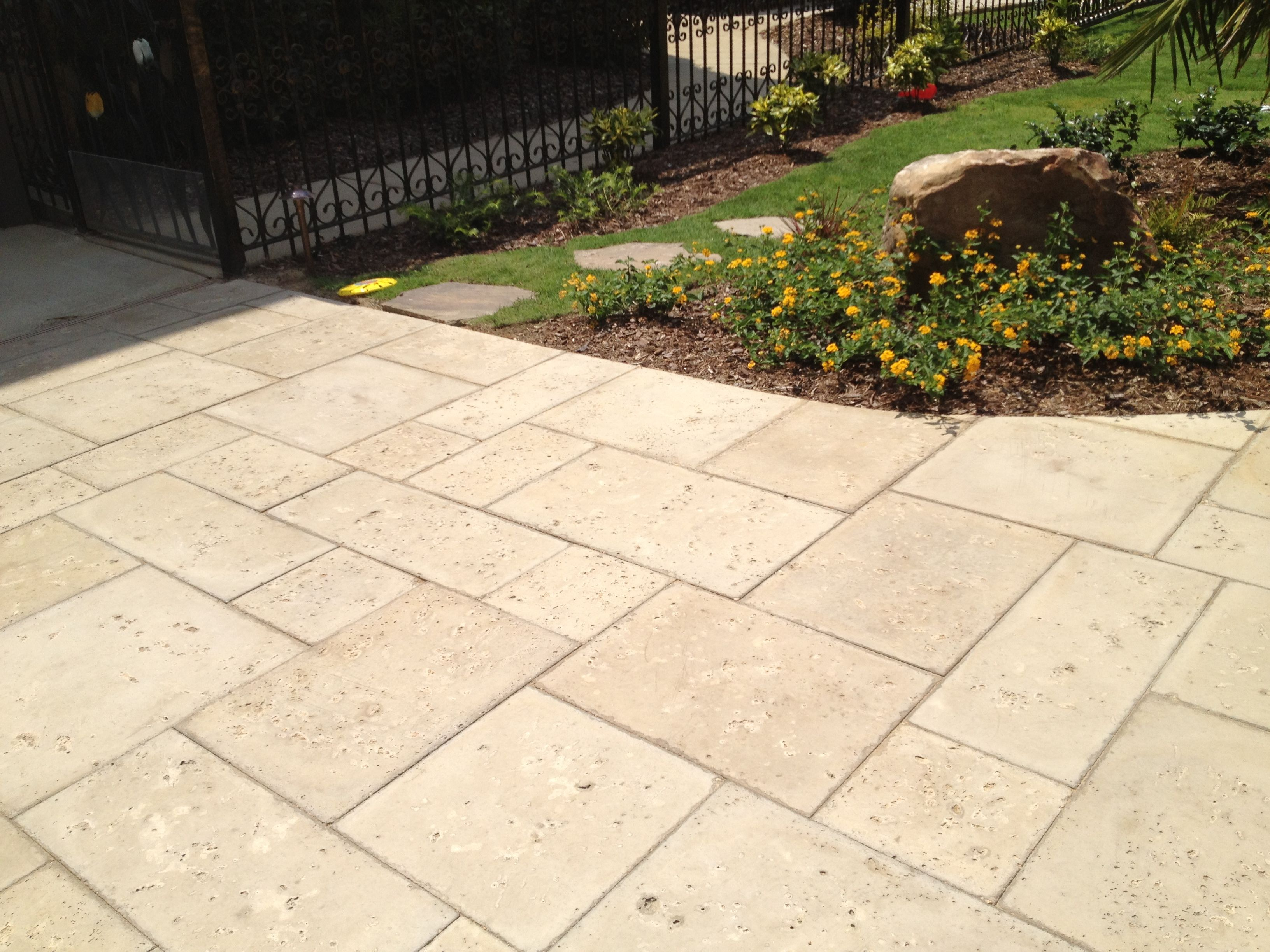 Pavers Yard Design Fusmun