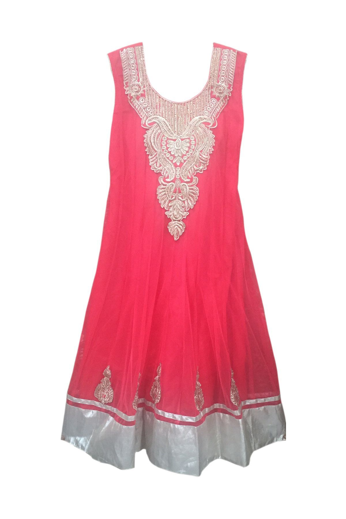 Womensu long length anarkali dress red products dresses and