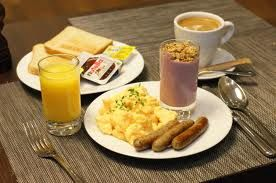 Yummy and endless food choices from the buffet breakfast that comes with your stay.