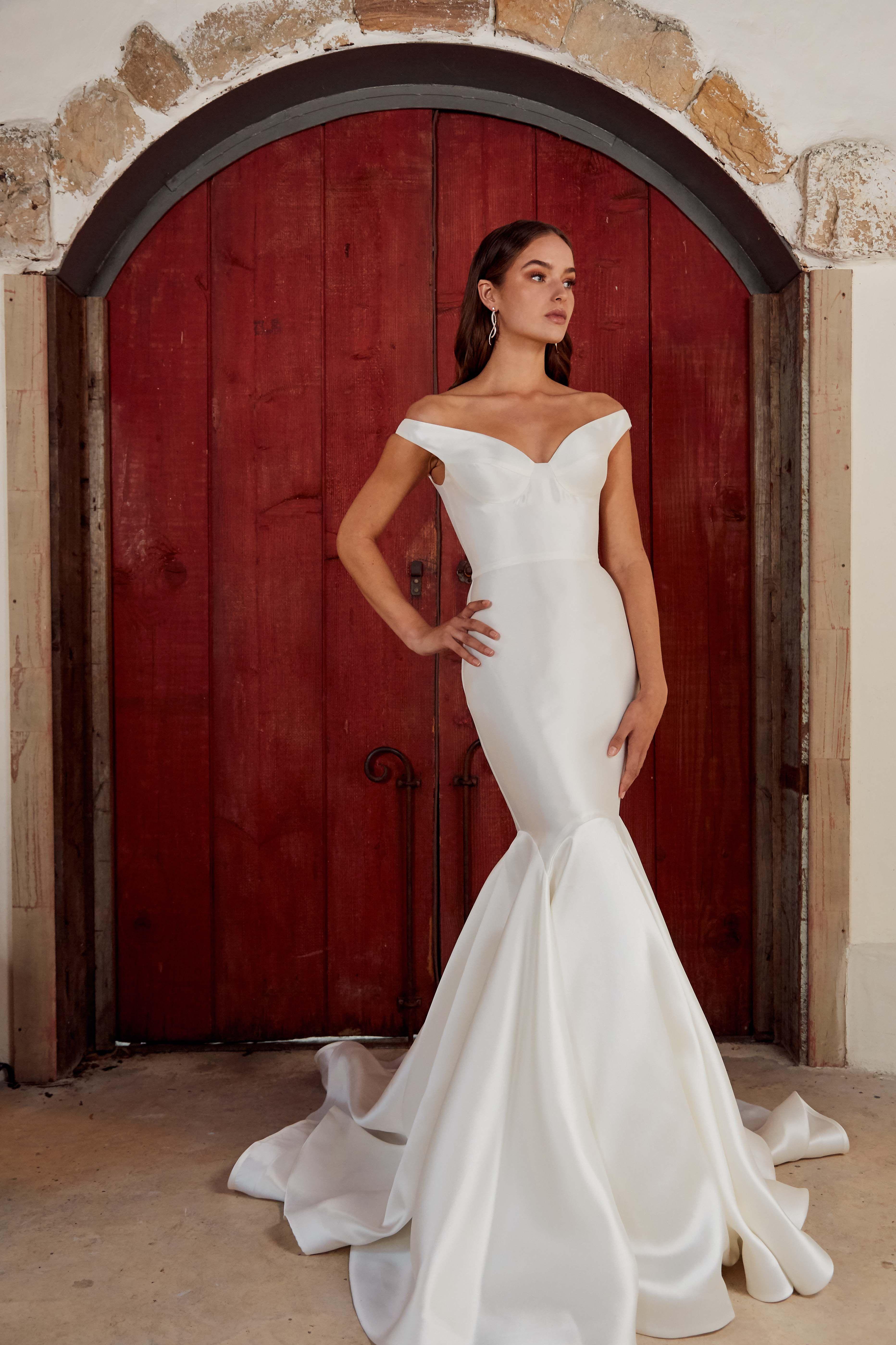 Leah Da Gloria Celeste Bridal Gown Available At Dimitrasbridal