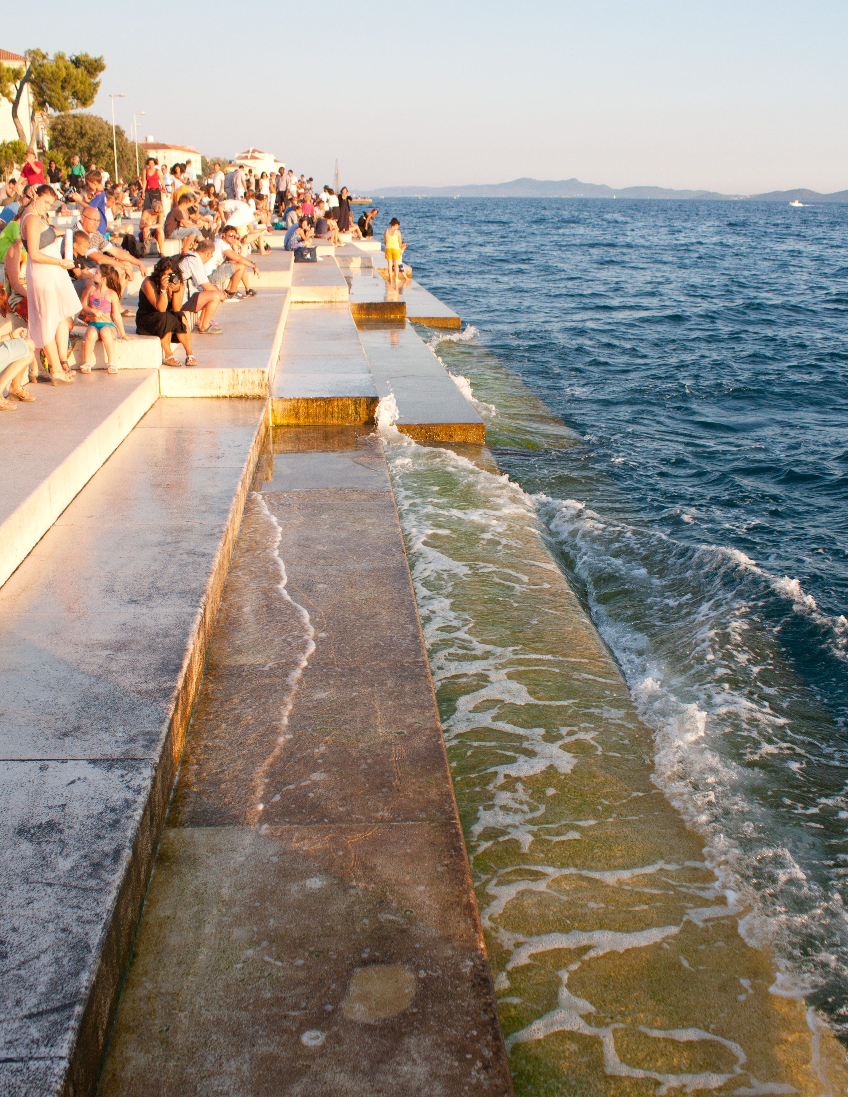 Sea Organ Old Town Zadar Croatia Places To Visit Croatia Zadar