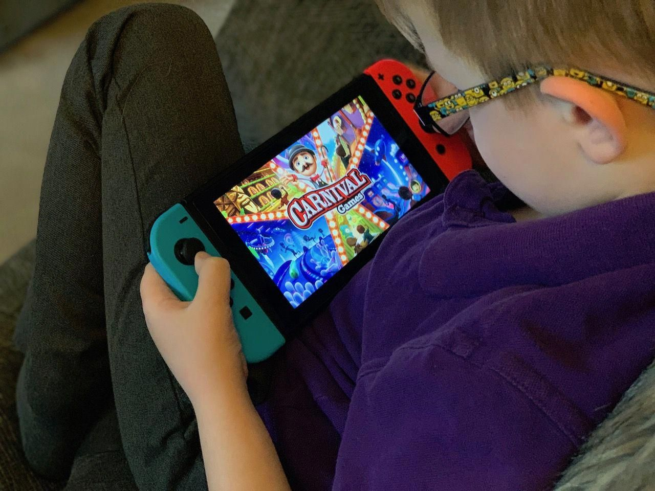 Carnival Games On Nintendo Switch A Review Nintendoswitch Carnival Games All Video Games Games For Kids
