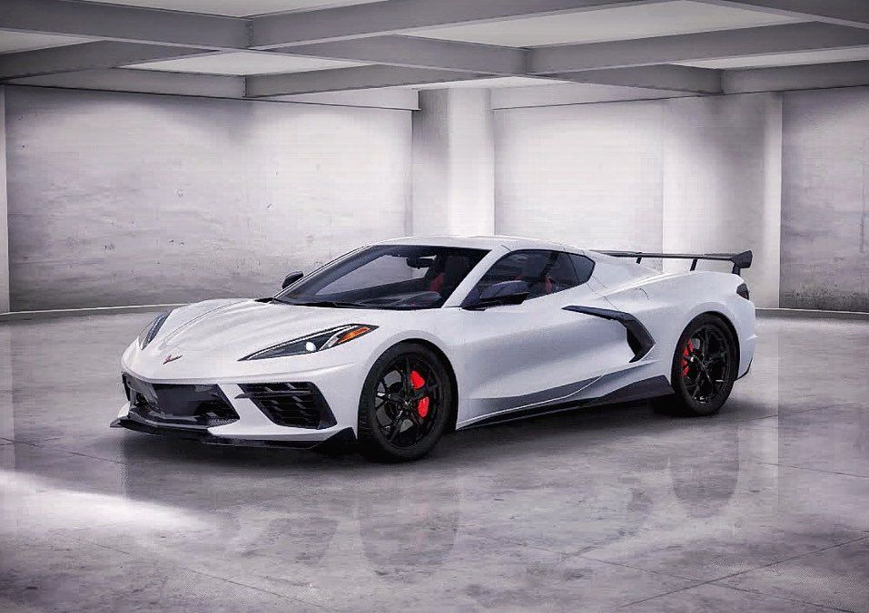 Only Five More Months Until Christmas If You Need Ideas Id Like My 2020 Corvette In Arctic White Chevy Vehicles Chevrolet Chevy Corvette