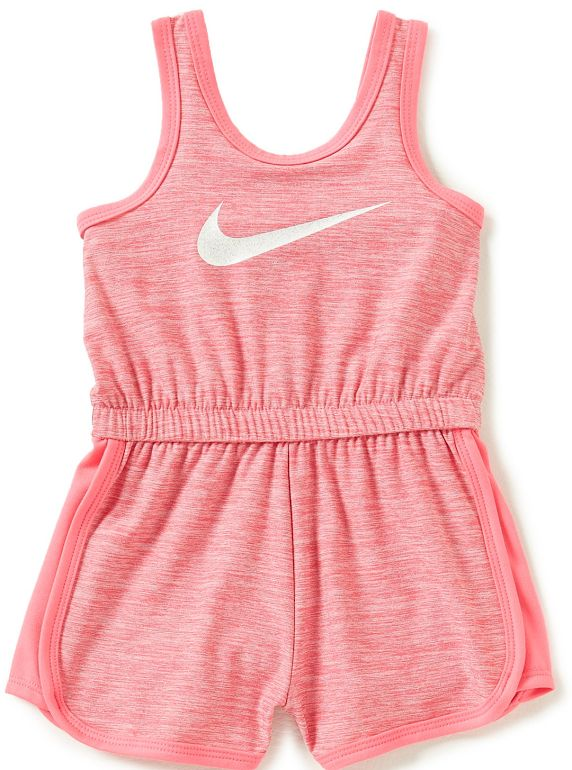 06822966d86c Jumpsuits and Rompers 175528  Nike Kids Dri-Fit Sport Essentials Romper  Hyper Pink Girls Jumpsuit Size 6X -  BUY IT NOW ONLY   34.99 on eBay!