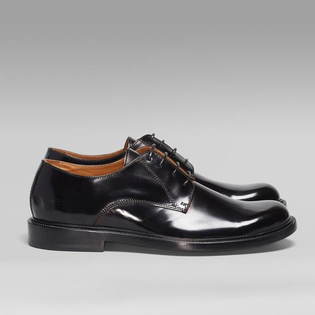 G-Star Raw || Manor Italian Shine, a handsome and timeless shoe for the cupboard