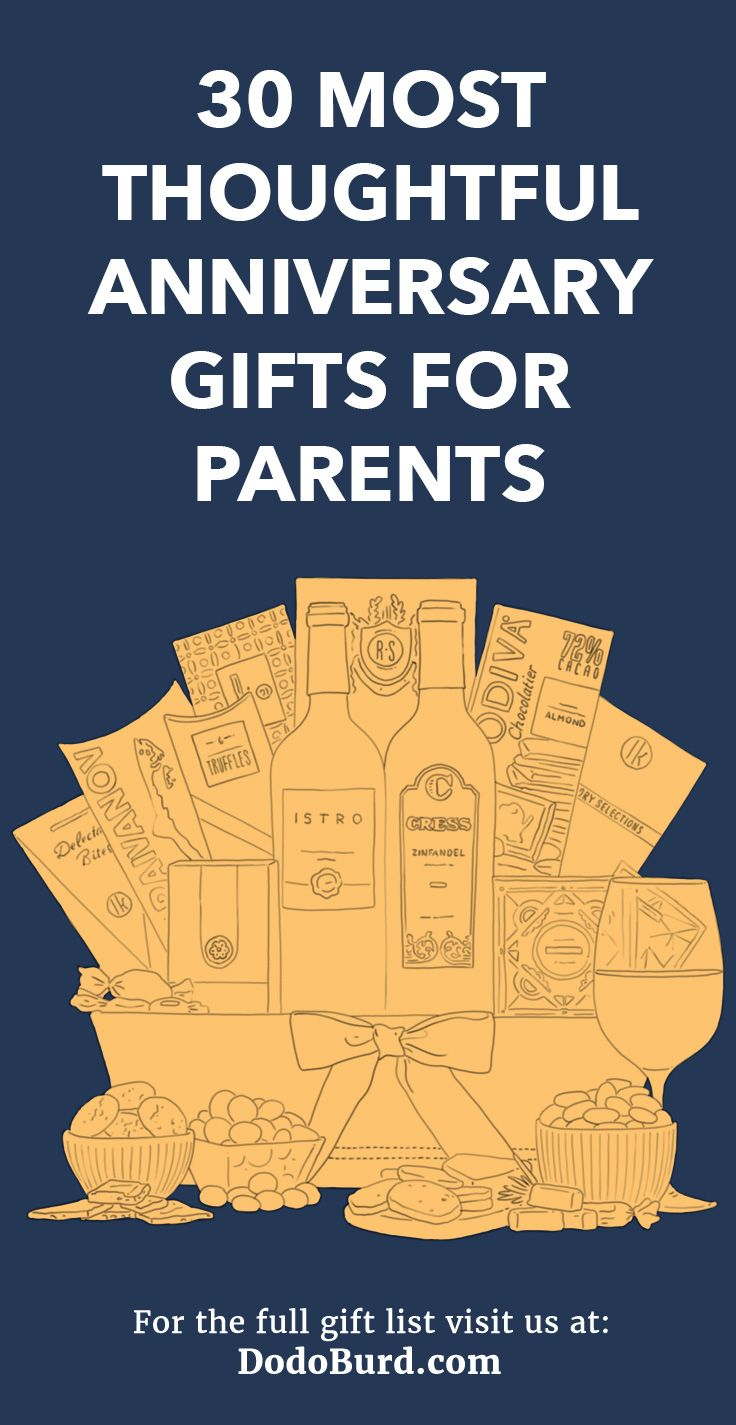 30 most thoughtful anniversary gifts for parents unique