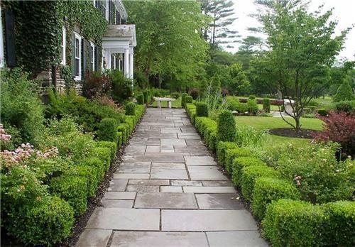 straight pathway
