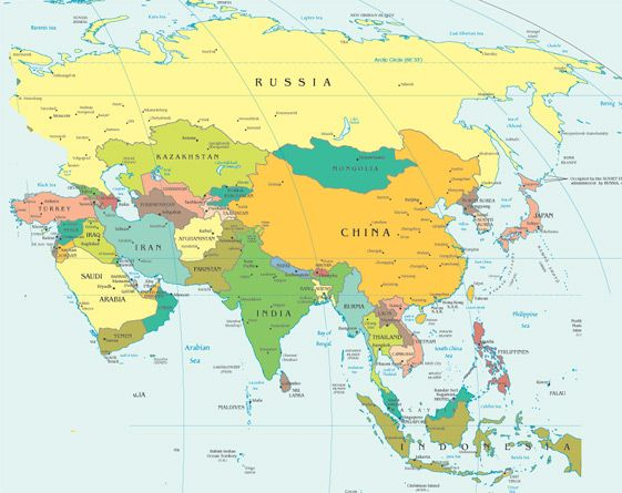 Changes and continuities affected many societies in Asia, Africa