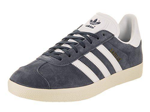 589eb32397bef Adidas Womens Gazelle Originals TrablueWhiteGold Metallic Casual ...