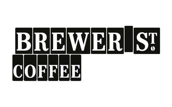 Logotype inspired by type blocks developed by Designers Anonymous for Fuller's fair-trade coffee range Brewer St.