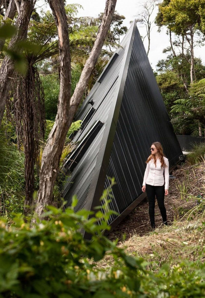 A Tent Inspired House That Lives Among The Trees In New Zealand & A Tent Inspired House That Lives Among The Trees In New Zealand ...