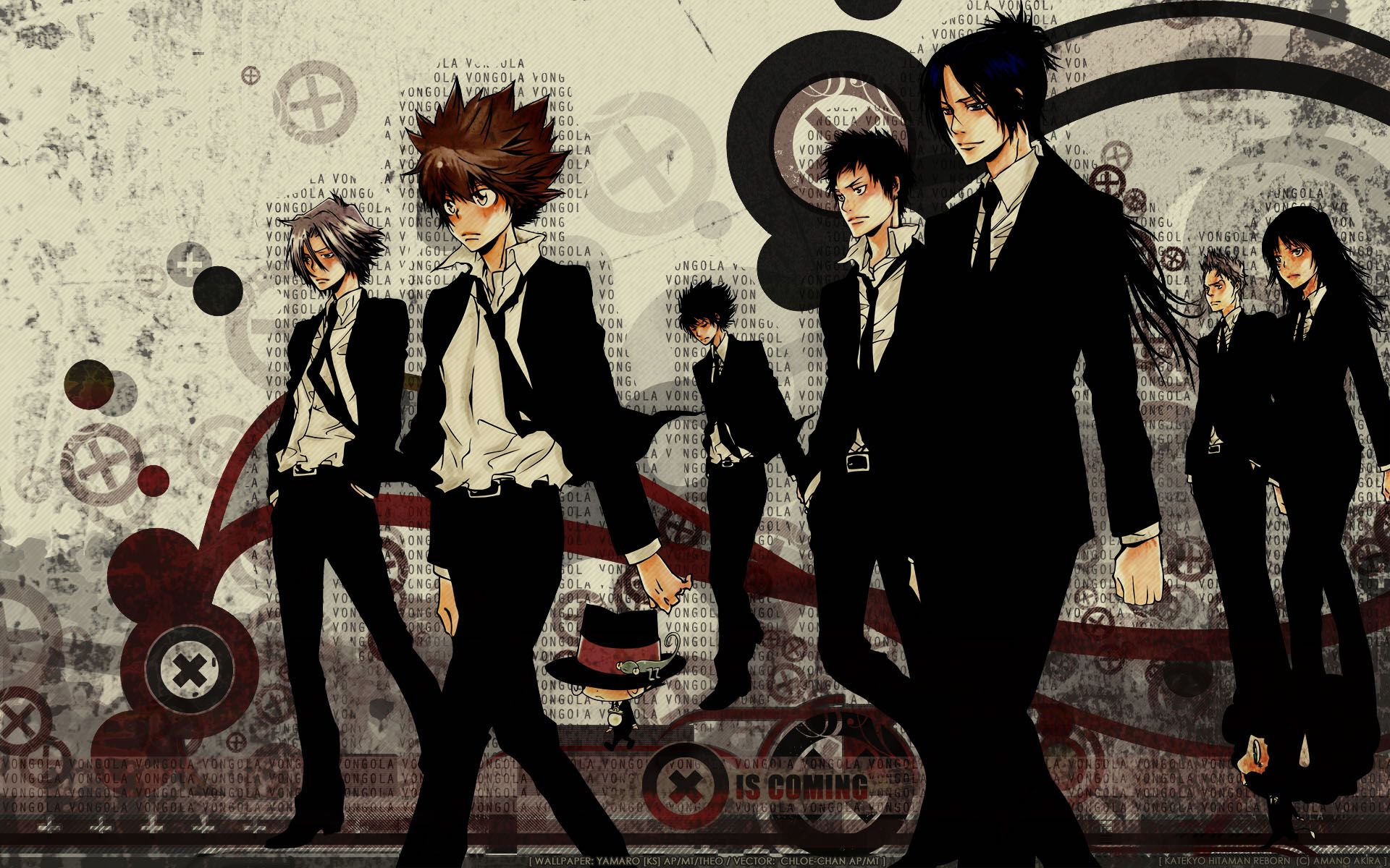 Anime Katekyo Hitman Reborn Anime Wallpaper