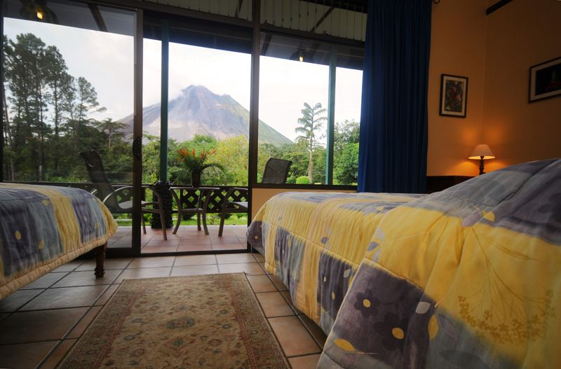 The Smithsonian Room at Arenal Observatory Lodge | Arenal Observatory Lodge & Spa