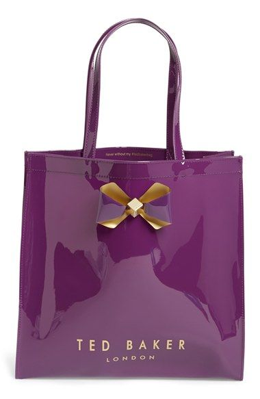 a212c1e5025334 Ted Baker London  Large Plain Bow Icon  Tote