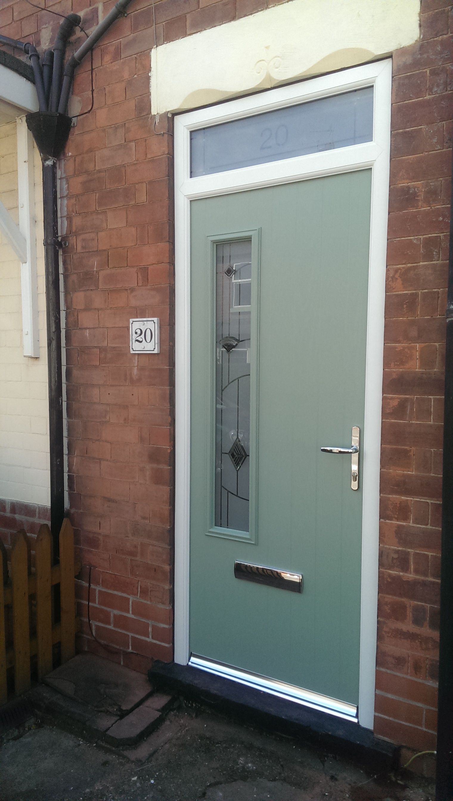 Green composite composite door chartwell green green front front doors - Front Doors Chartwell Green Composite Door Newly Installed By Team Glazedale For A Free Quotation Call
