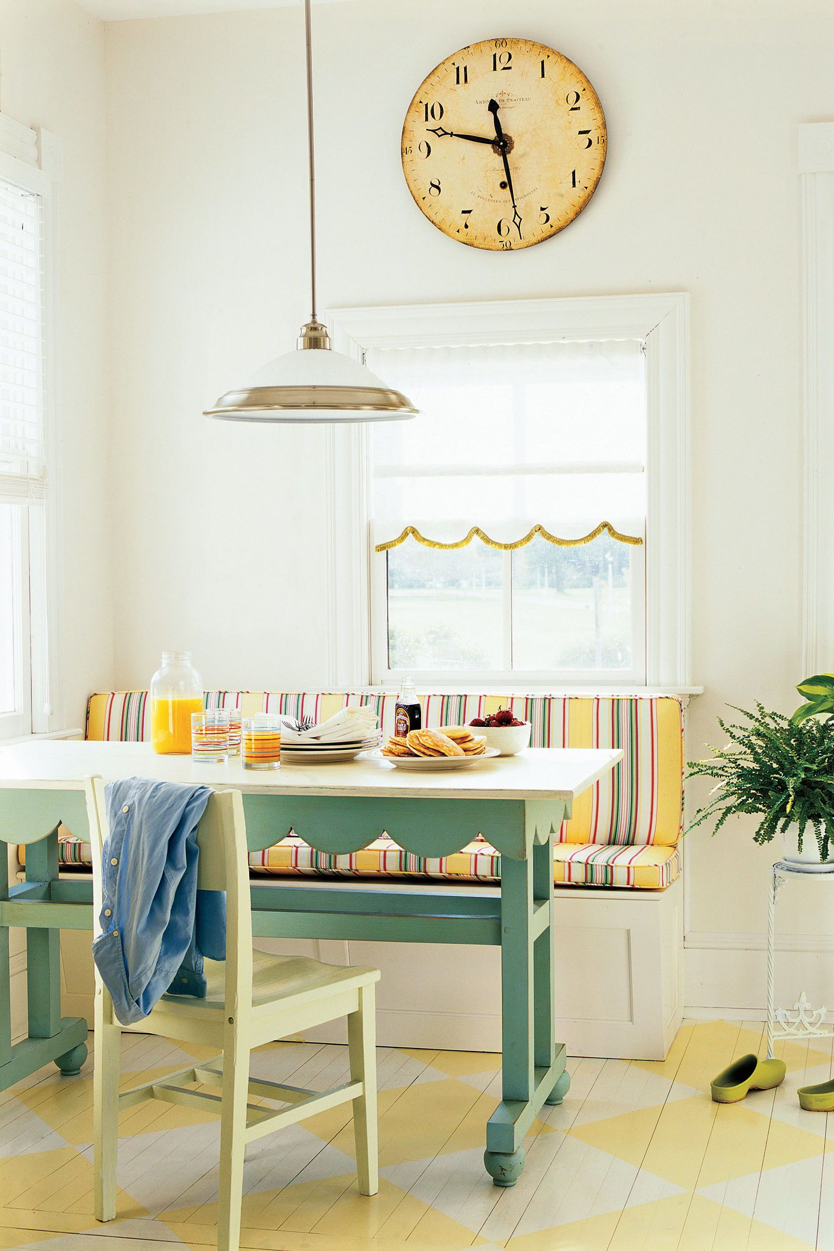Farm Kitchen Remodeling Ideas Breakfast Nook