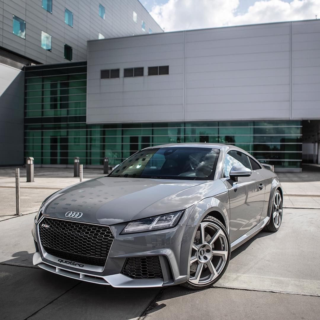 The Tt Rs In Nardo Gray Looks Awesome In The Sunlight Ca With Images Audi Tt Rs Audi Tt Audi Cars