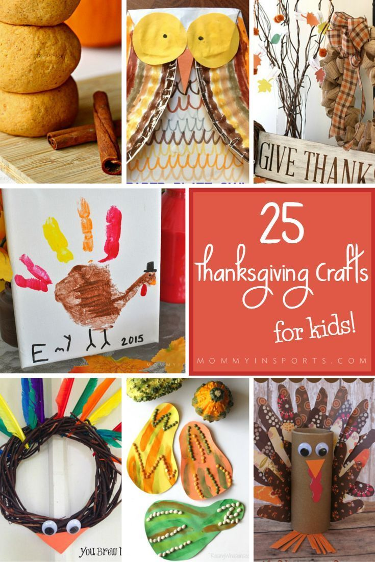 Cute Turkey Hand Print + 25 Thanksgiving Crafts for Kids is part of Kids Crafts Halloween Hand Prints - Looking to have some Thanksgiving crafting fun  Check out these 25 awesome Thanksgiving crafts for kids plus a cute turkey hand print!