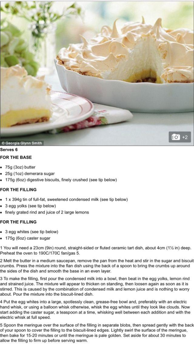 Cheats Lemon Meringue Pie Recipe Mary Berry Sugar Free Lemon Meringue Pie Recipe Mary Berry Lemon Meringue Pie Lemon Meringue Pie