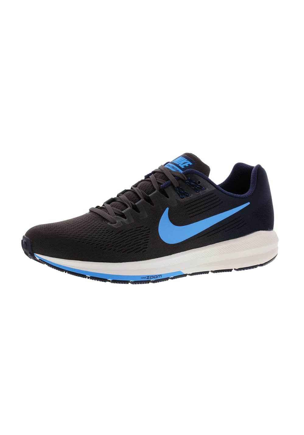 quality design ce040 081d7 Nike Air Zoom Structure 21 - Chaussures running pour Homme - Noir Boutiques,  Nike Air