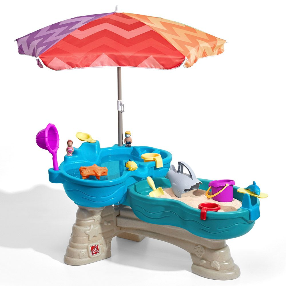 Step 2 Spill & Splash Water Sand Harbour Table (18+ months) | Costco ...