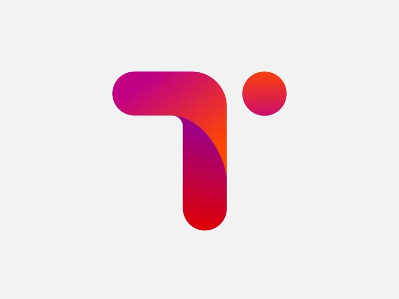 letter i logo design inspiration and ideas design