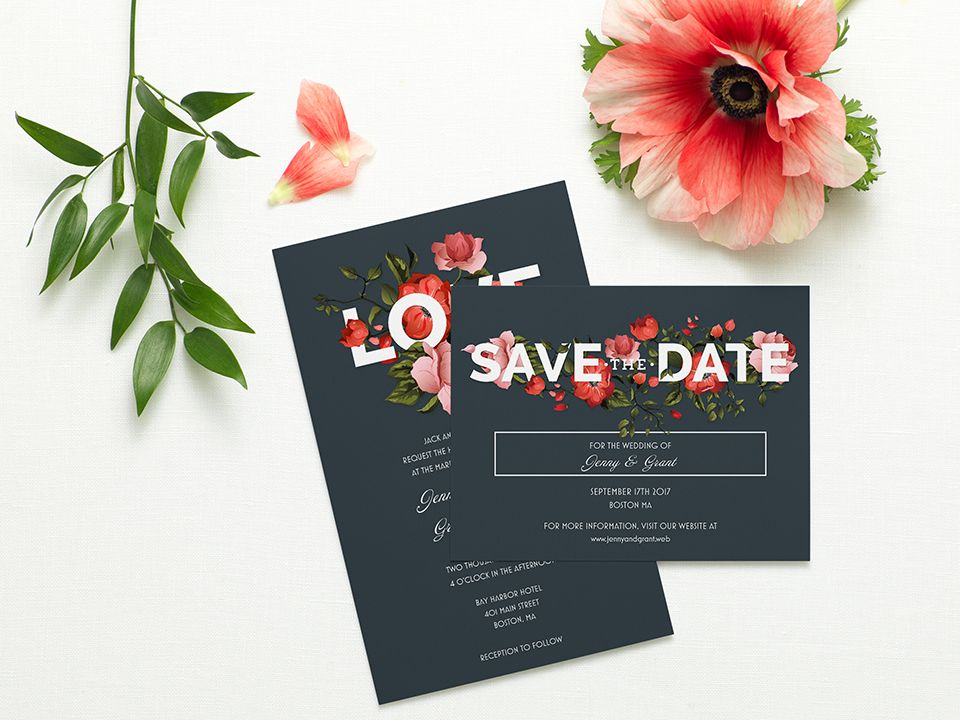 Ways To Save Money On Wedding Invitations: Weddings By Vistaprint