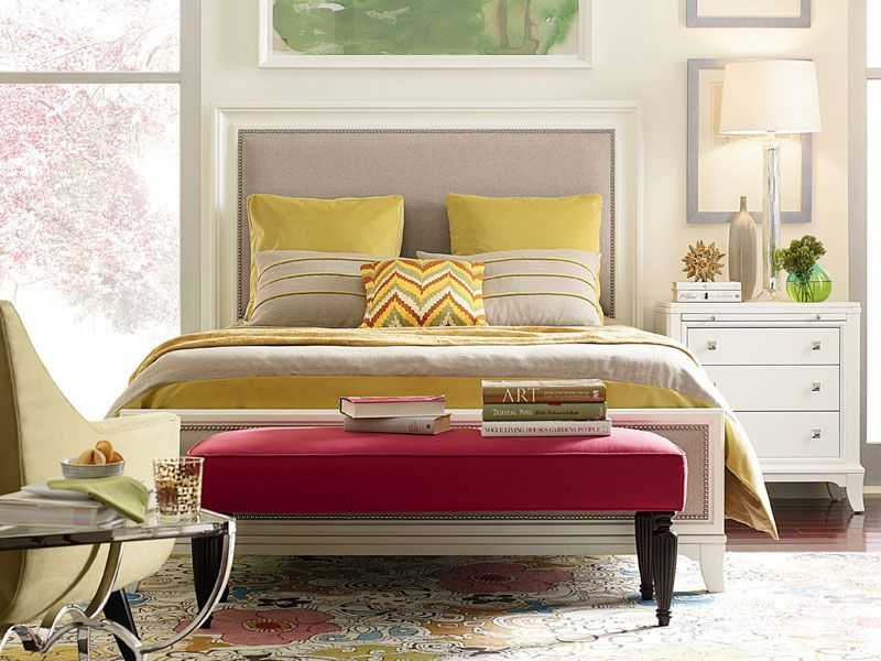 Thomasville Manuscript Paper White Bedroom Collection   Beautiful ...