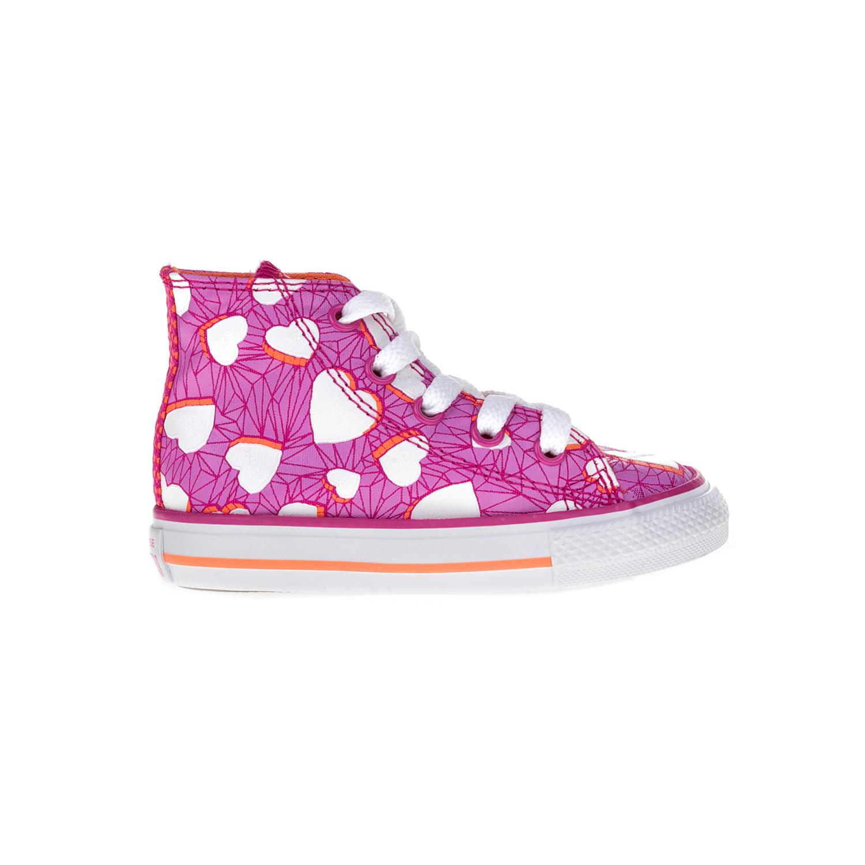 CONVERSE – Βρεφικά μποτάκια Chuck Taylor All Star Hi ροζ Παιδικά Baby  Παπούτσια  560faa356cf