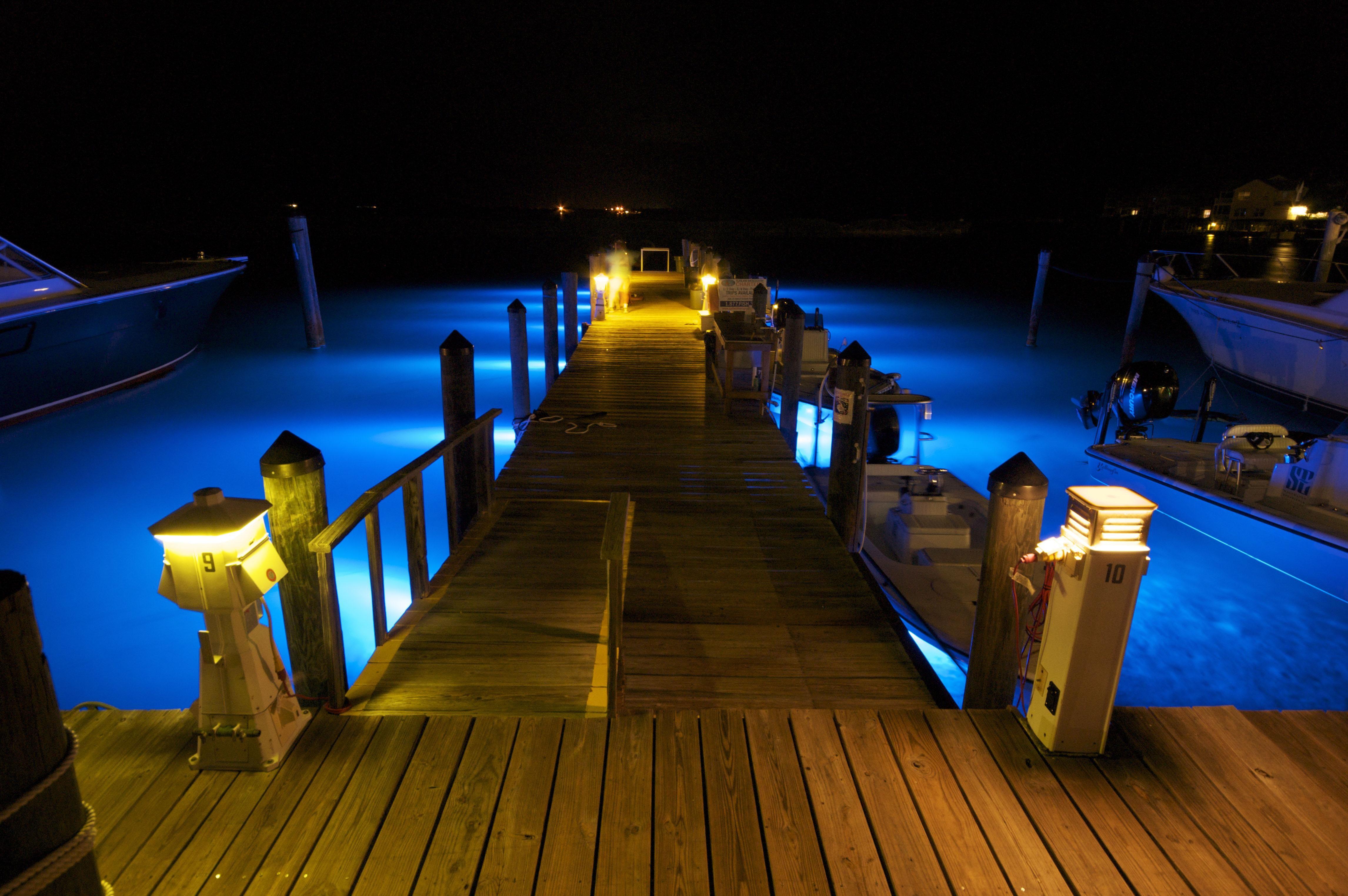 Imagine Turning Your Dock Lights On
