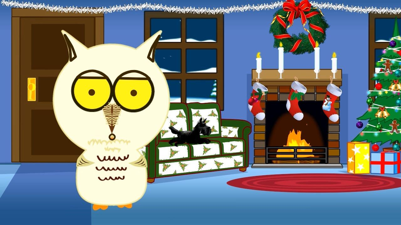 Have A Hoot Of A Christmas Free Animated Musical Ecard