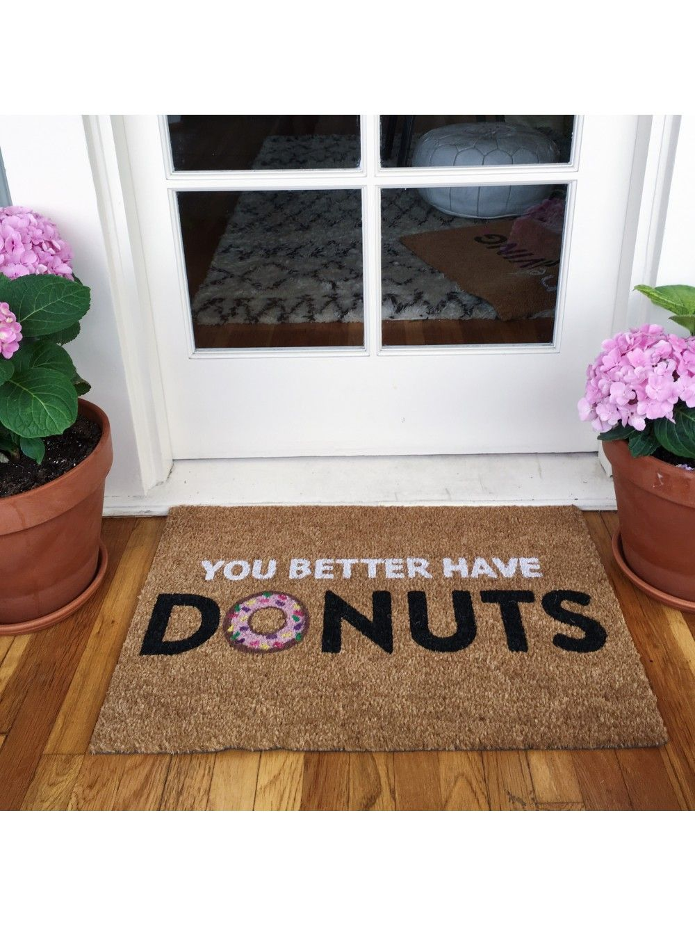 You Better Have Donuts Doormat | | Future Home | | Pinterest ...