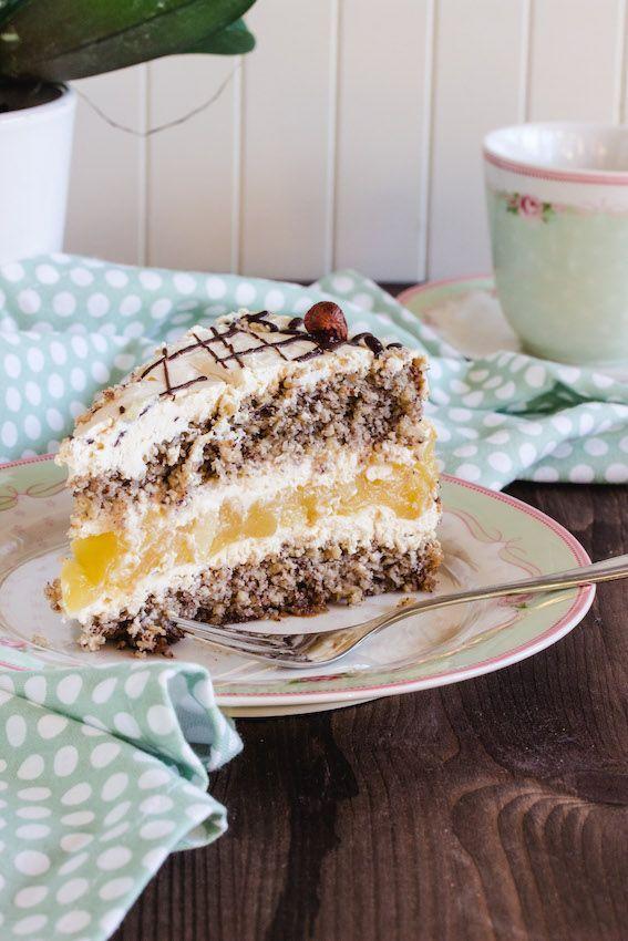 Apfel Nuss Torte Glutenfrei Und Kirsch Streuselkuchen Streuselkuchen Mit Kirschen Streusel Kuchen Torte Ohne Backen